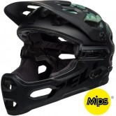 BELL Super 3R MIPS Oak Matte Black / Greens