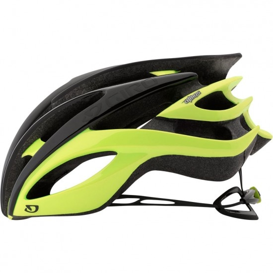 Casco GIRO Atmos II Matte Black / Highlight Yellow
