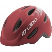 GIRO Scamp Junior Matt Dark Red