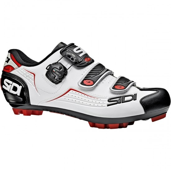 Chaussures SIDI MTB Trace White / Black / Red