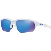 OAKLEY Flak Beta Polished White / Sapphire Iridium
