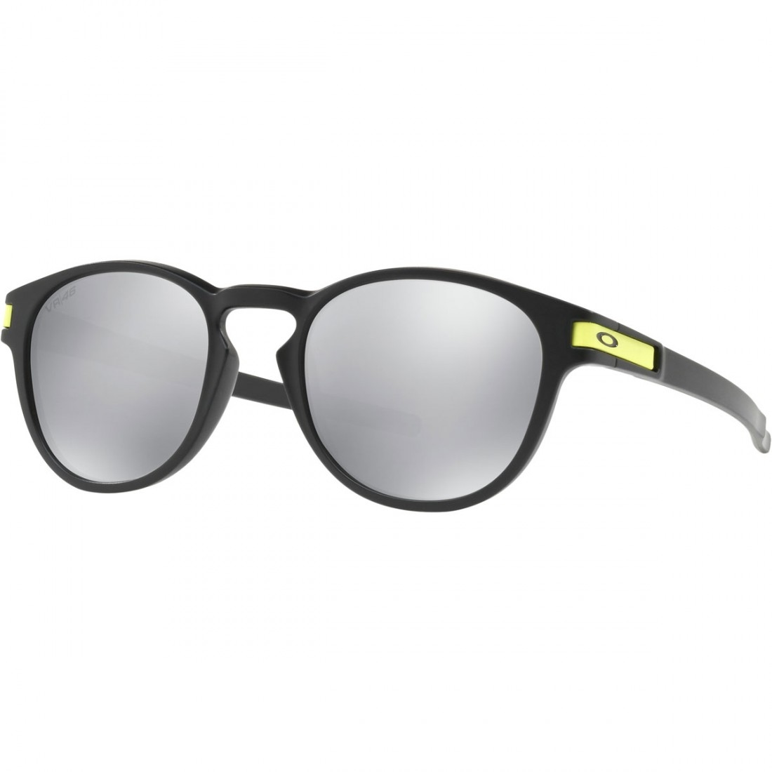 f104273decb Lunettes de soleil OAKLEY Latch Valentino Rossi Signature Series Matte  Black   Chrome Iridium