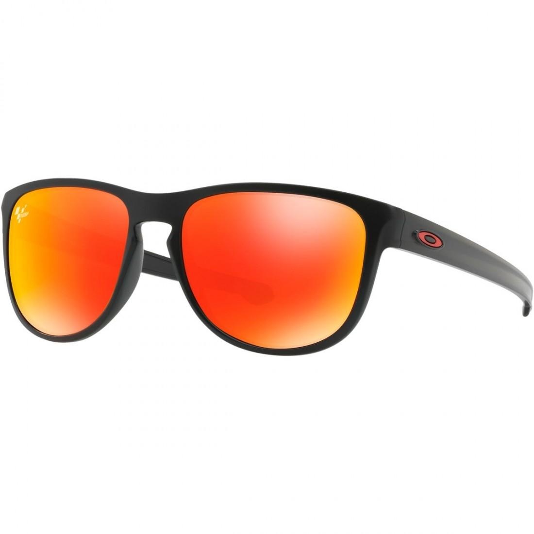 df63a4f1e73 OAKLEY Sliver Round Moto GP Matte Black   Prizm Ruby Sun glasses · Motocard