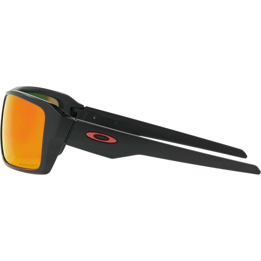 0d4ec61017 OAKLEY Double Edge Matte Black   Prizm Ruby Polarized Sun glasses ...