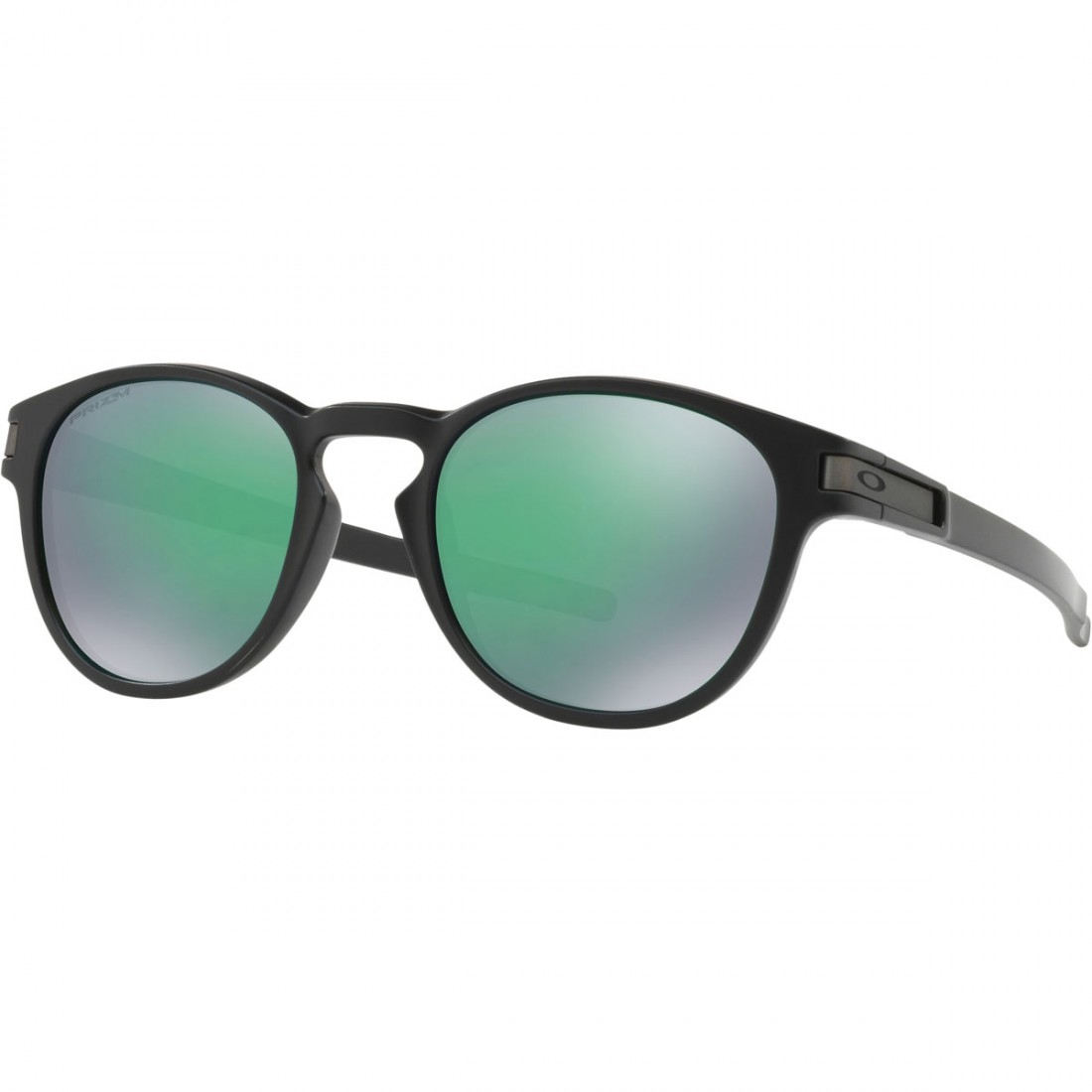 a6739198c4 OAKLEY Latch Matte Black   Prizm Jade Sun glasses · Motocard