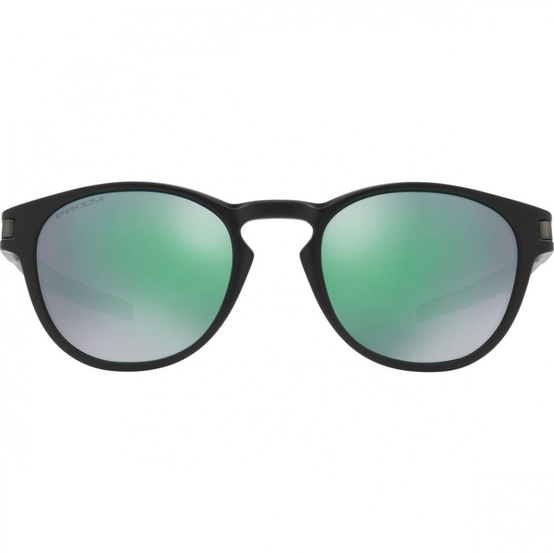 b35685c650d OAKLEY Latch Matte Black   Prizm Jade Sun glasses · Motocard