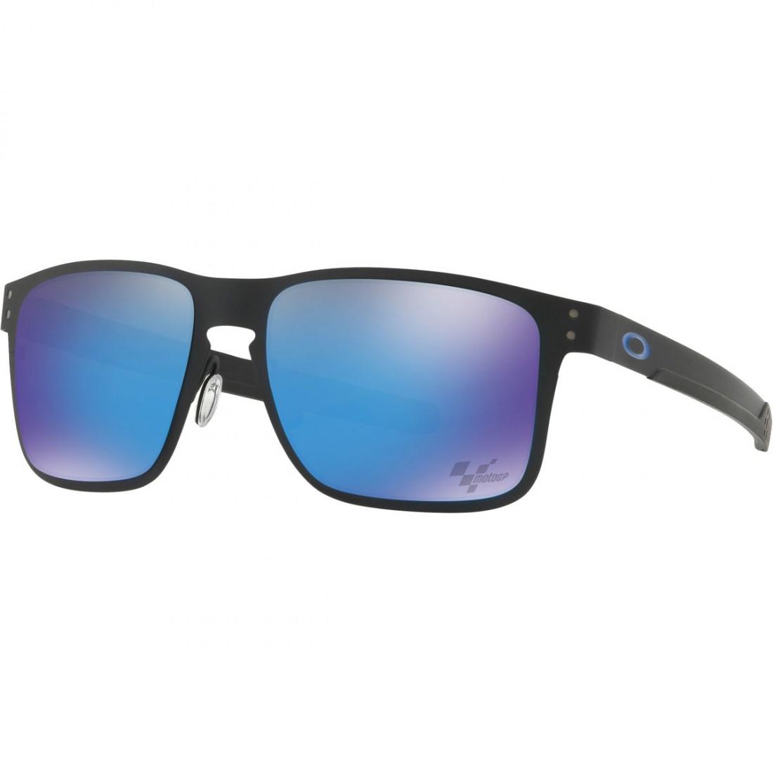 a21f80f9f6ef9 Óculos de sol OAKLEY Holbrook Metal Moto GP Matte Black   Prizm Sapphire