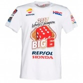 GP APPAREL Marc Marquez World Champion 2017 – Big 6 White
