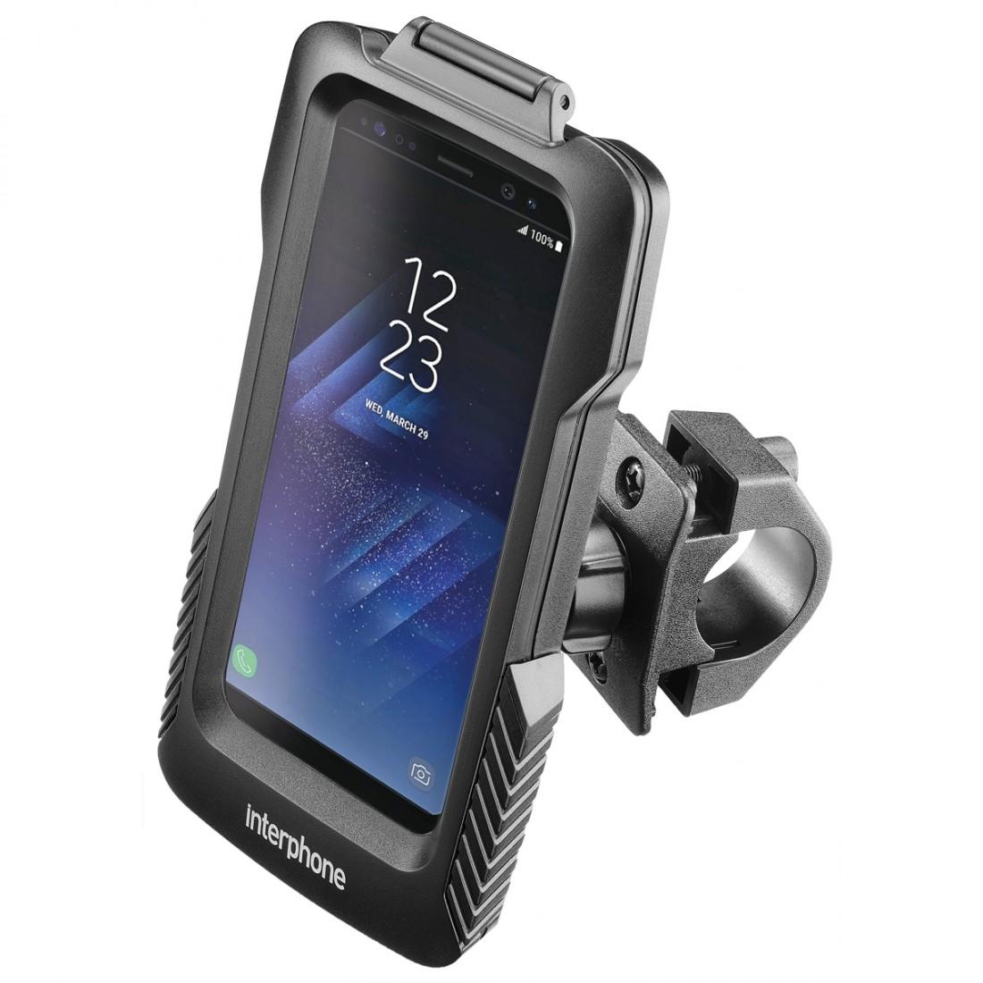 Funda Iphone XR con Soporte para Moto Interphone Icase