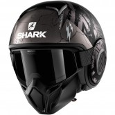 SHARK Street-Drak Crower Mat Black / Anthracite / Silver