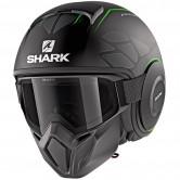 SHARK Street-Drak Hurok Mat Black / Green / Black