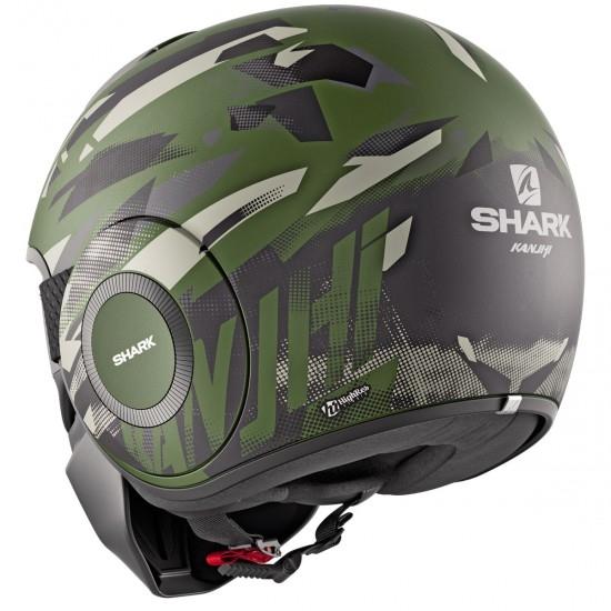 Casco SHARK Street-Drak Kanhji Mat Green / Green / Green