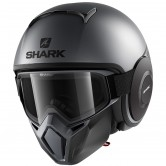 SHARK Street-Drak Neon Mat Anthracite / Black / Black