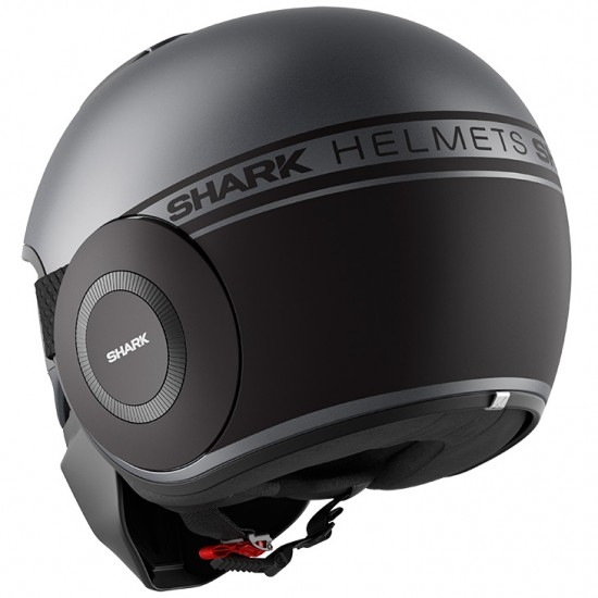 Helm SHARK Street-Drak Neon Mat Anthracite / Black / Black