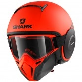SHARK Street-Drak Neon Mat Orange / Black / Black