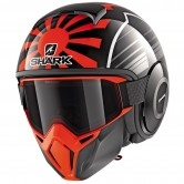 SHARK Street-Drak Replica Zarco Malaysian GP Black / Orange / Anthracite