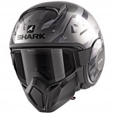 SHARK Street-Drak Replica Zarco Malaysian GP Mat Black / Anthracite / Anthracite