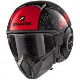 SHARK Street-Drak Tribute RM Black / Red / Anthracite