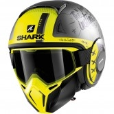SHARK Street-Drak Tribute RM Mat Anthracite / Silver / Yellow