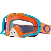 OAKLEY Crowbar MX Flo Orange / Blue