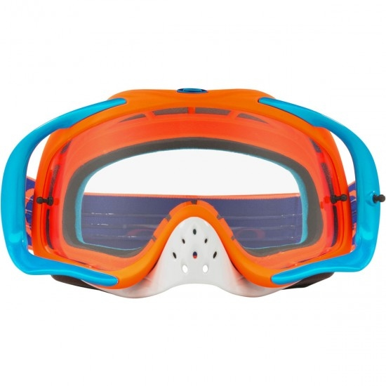 Lunettes OAKLEY Crowbar MX Flo Orange / Blue