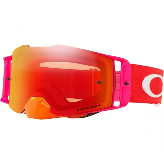 Máscara / Óculos OAKLEY Front Line Pinned Race Orange / Red / Prizm Mx Torch