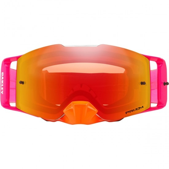 Masque / Lunettes OAKLEY Front Line Pinned Race Orange / Red / Prizm Mx Torch