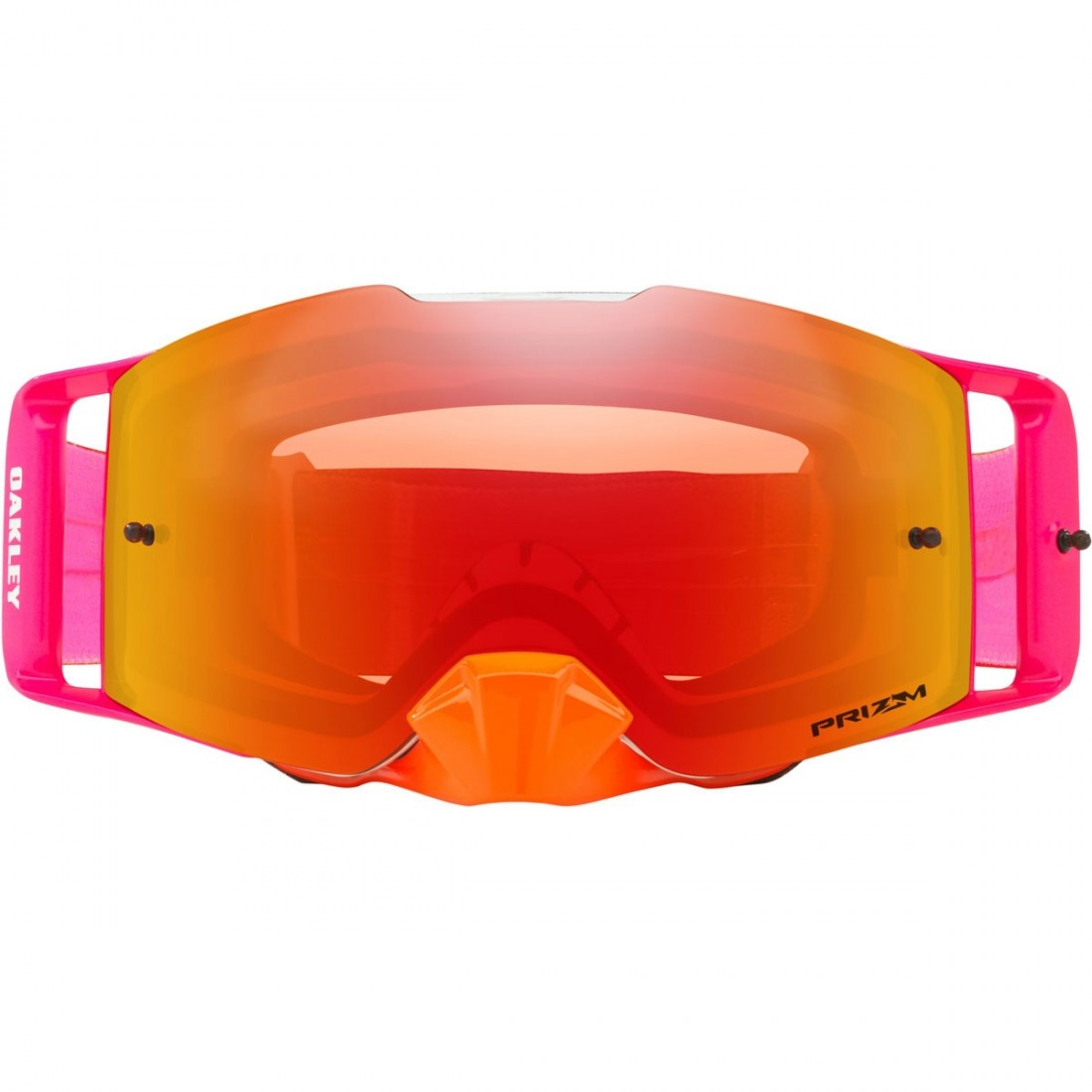 d3017e48aad OAKLEY Front Line Pinned Race Orange   Red   Prizm Mx Torch Goggles ...