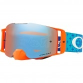 OAKLEY Front Line Troy Lee Designs Starburst Blue / Orange / Prizm Mx Sapphire