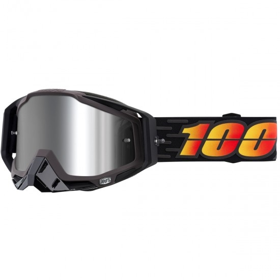 100% Racecraft + Costume Mirror Silver Goggles