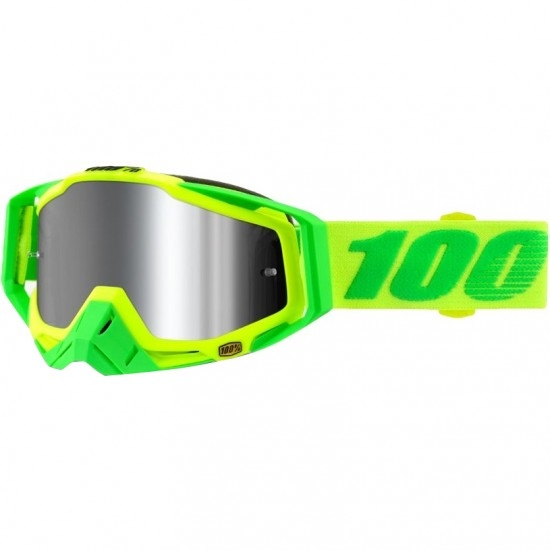 100% Racecraft + Sour Soul Mirror Silver Mask / Goggle