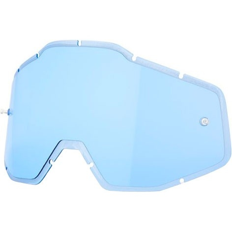 100% Injected Anti-Fog Blue Mask / Goggle