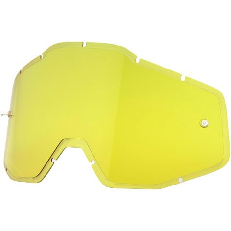 100% Injected Anti-Fog Hiper Yellow Mask / Goggle