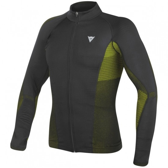 Térmico DAINESE D-Core No-Wind Dry LS Black / Yellow Fluo