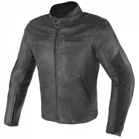 DAINESE Stripes D1 Estiva Black Jacket