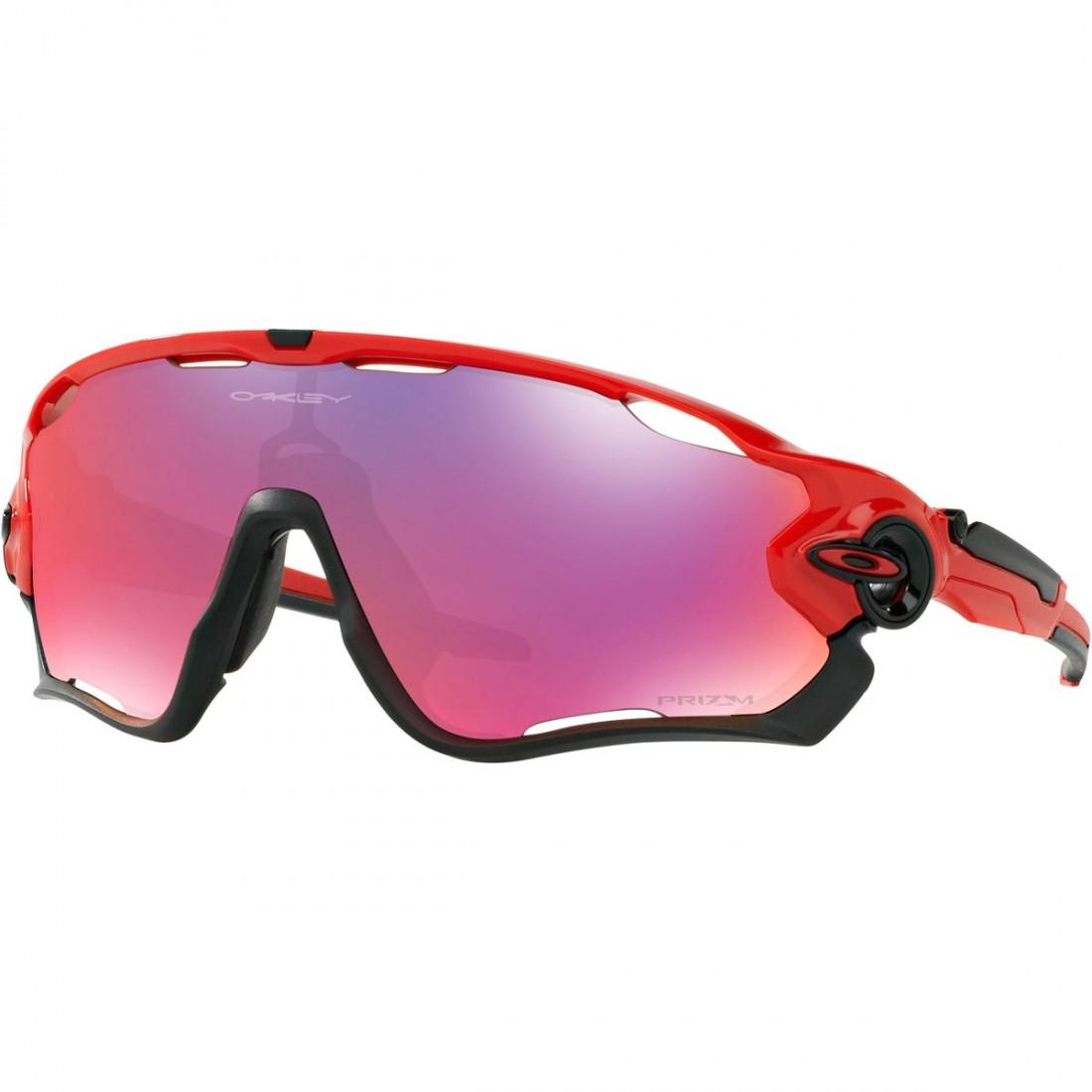 8710c93b3e OAKLEY Jawbreaker Redline   Prizm Road Mask   Goggle · Motocard