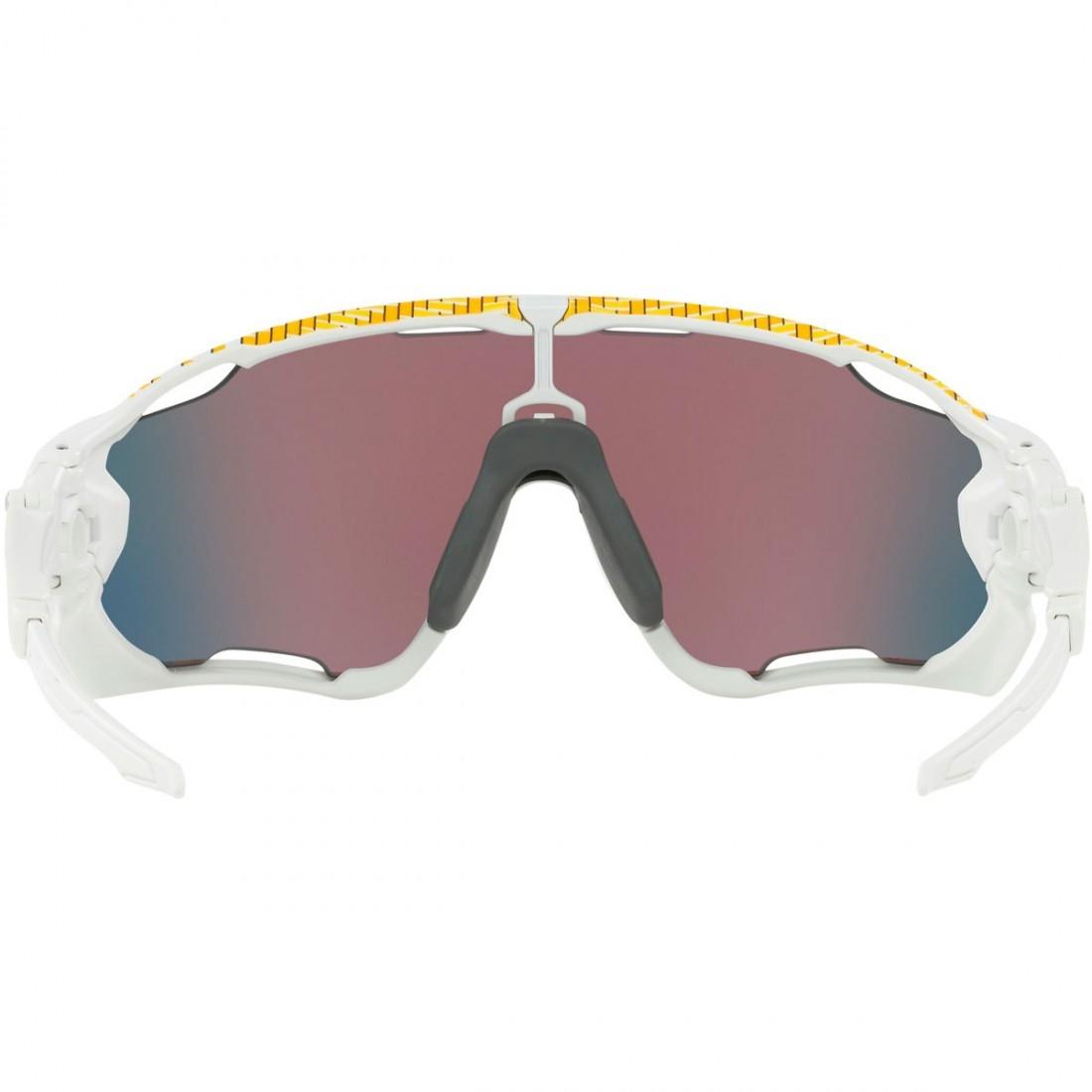 72bc7eb9b4 OAKLEY Jawbreaker Tour de France Matte White   Prizm Road Mask   Goggle