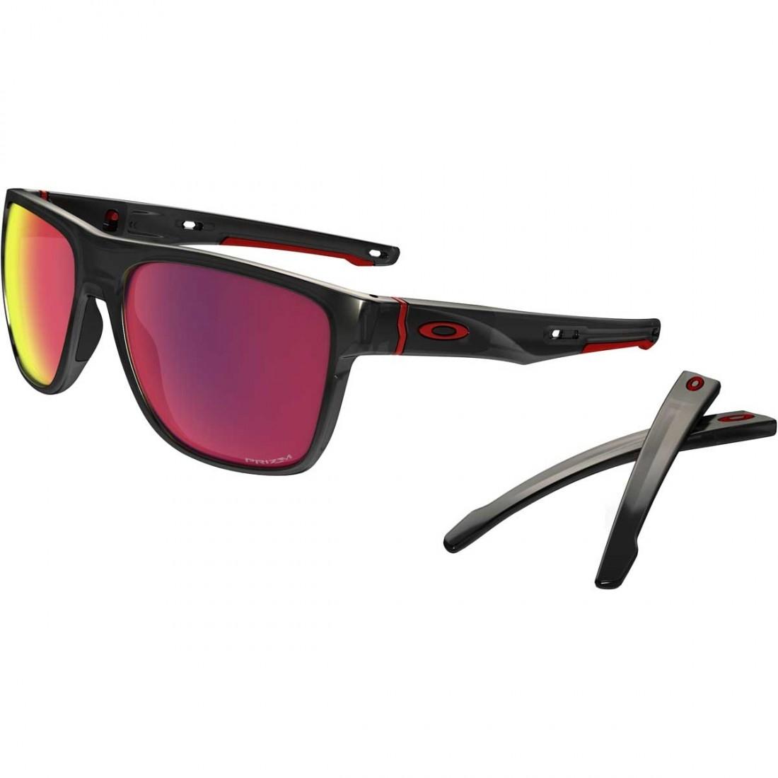 61d11c8ae0 OAKLEY Crossrange XL Black Ink   Prizm Road Sun glasses · Motocard