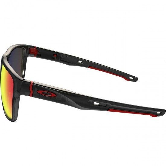 Maske / Brillen OAKLEY Crossrange XL Black Ink / Prizm Road