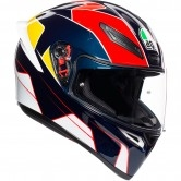 AGV K-1 Pitlane Blue / Red / Yellow
