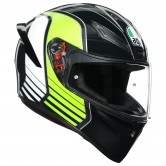 AGV K-1 Power Gunmetal / White / Green