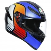 K-1 Power Matt Dark Blue / Orange / White