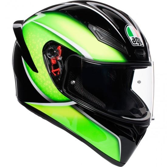 Helm AGV K-1 Qualify Black / Lime