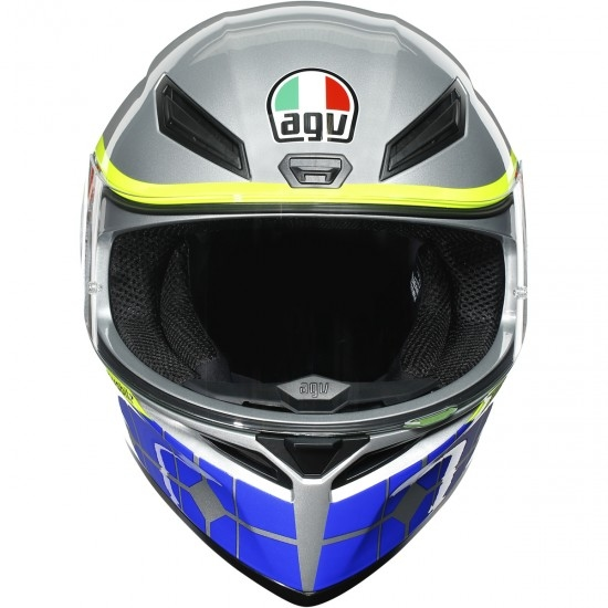 Casco AGV K-1 Rossi Mugello 2015