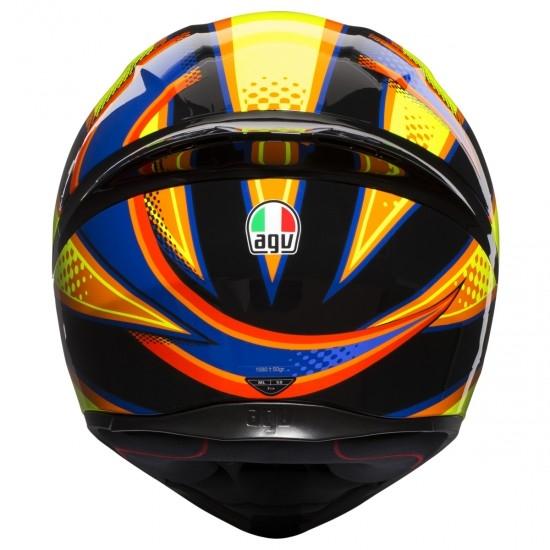 Casco AGV K-1 Rossi Soleluna 2015