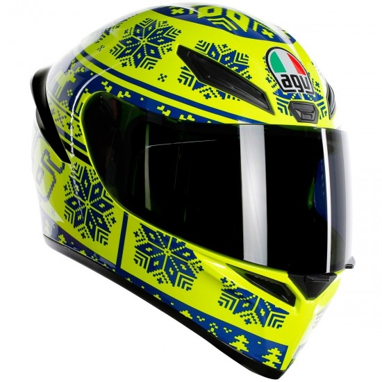 Casco AGV K-1 Rossi Winter Test 2015