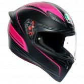 AGV K-1 Warmup Black / Pink