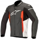 ALPINESTARS Faster Black / White / Red Fluo
