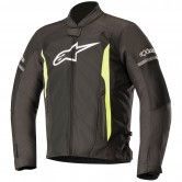 ALPINESTARS T-Faster Air Black / Yellow Fluo