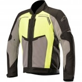 ALPINESTARS Durango Air Black / Dark Gray / Yellow Fluo
